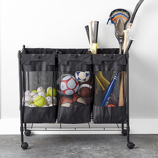 Heavy Duty Triple Storage Bin The Container Store