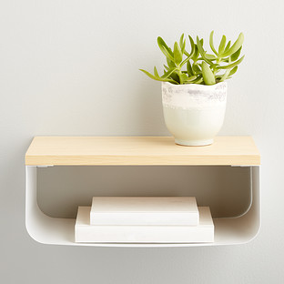 Umbra Bijou Floating Shelf Cubby The Container Store