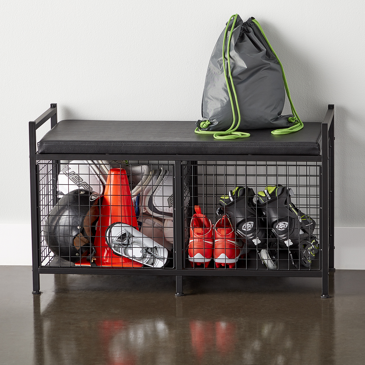 Heavy-Duty Storage Bench