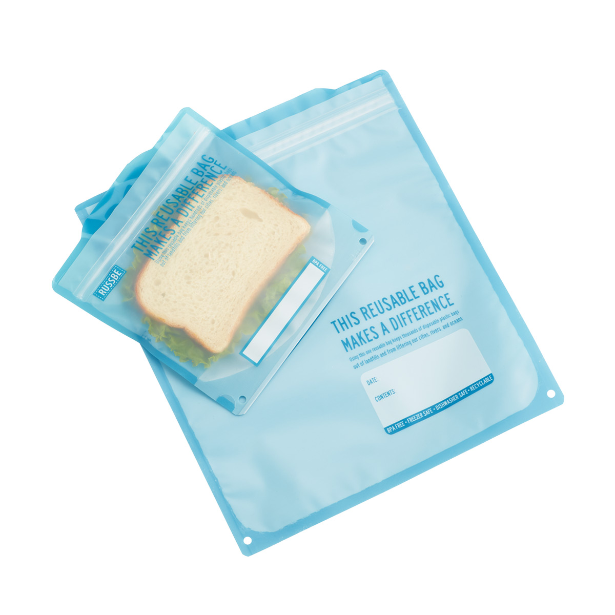 Russbe Reusable Food Storage Bags