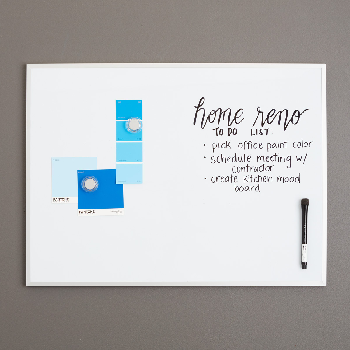Three by Three Magnetic Dry Erase Board