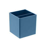 Slate Blue Poppin Pencil Cup