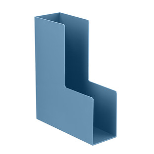 Slate Blue Poppin Magazine Holder