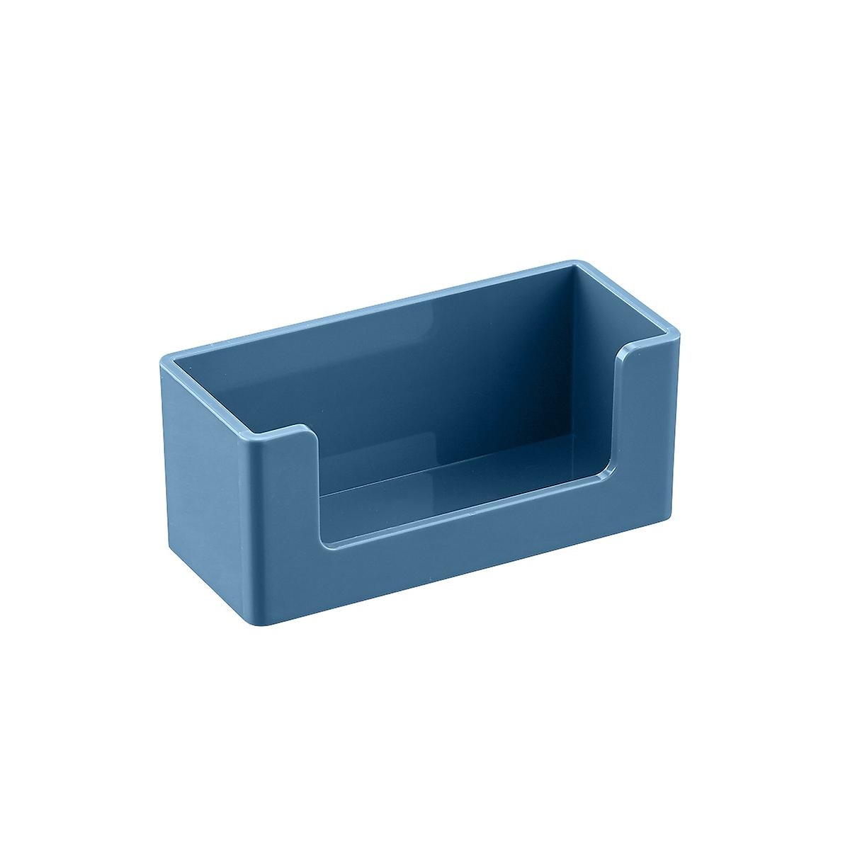 Slate Blue Poppin Business Card Holder