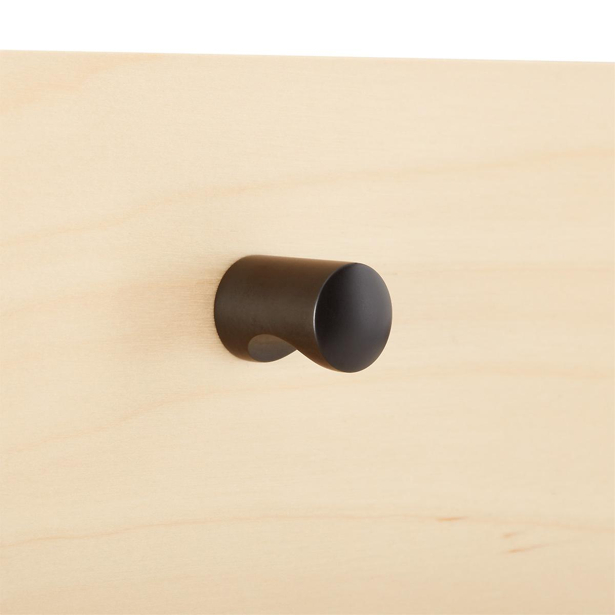 Elfa Decor Oil Rubbed Bronze Modern Knob