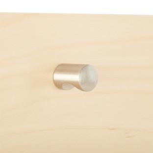 Elfa Decor Brushed Nickel Modern Knob