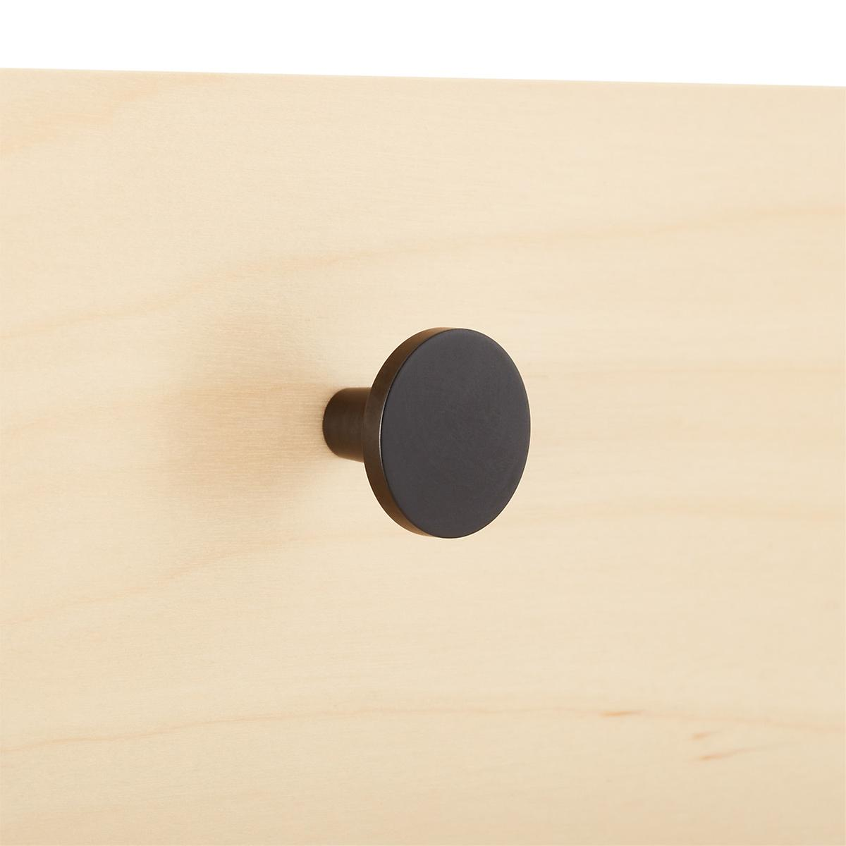 Elfa Decor Oil Rubbed Bronze Flat Knob