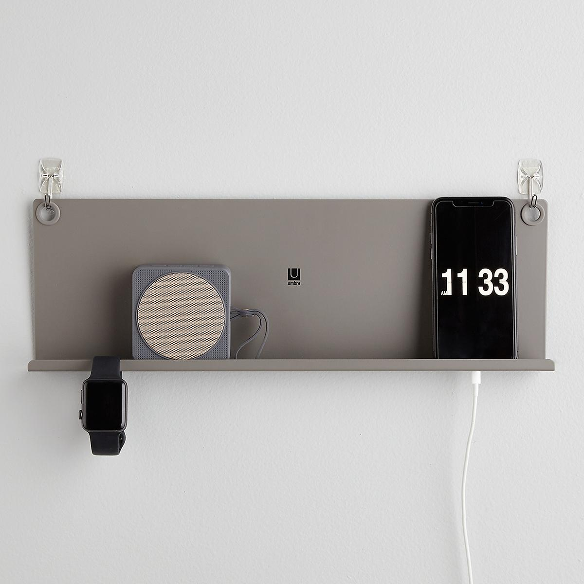 Umbra Levit Grey Tech Shelf