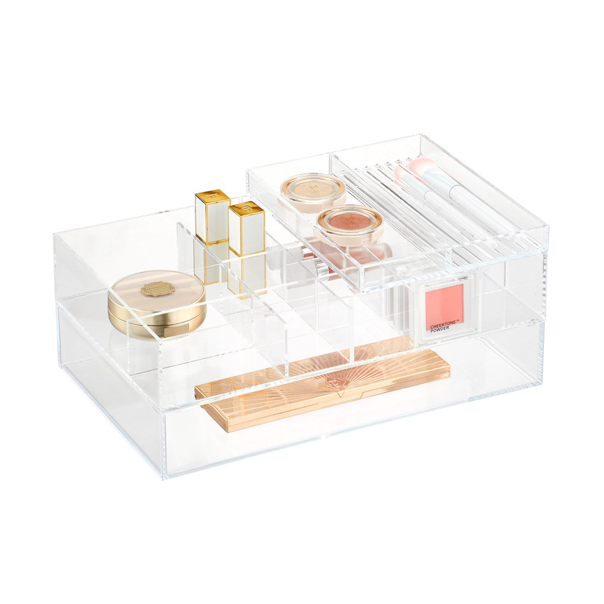 Clear Acrylic Large Stackable Trays