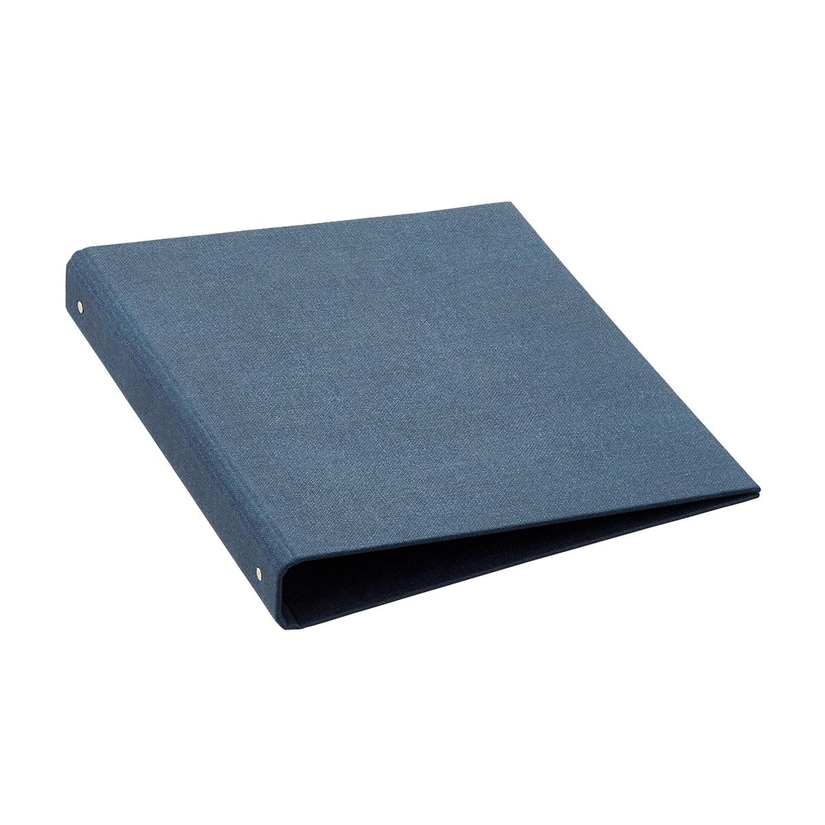"Bigso Marten Navy 1"" Three-Ring Binder"