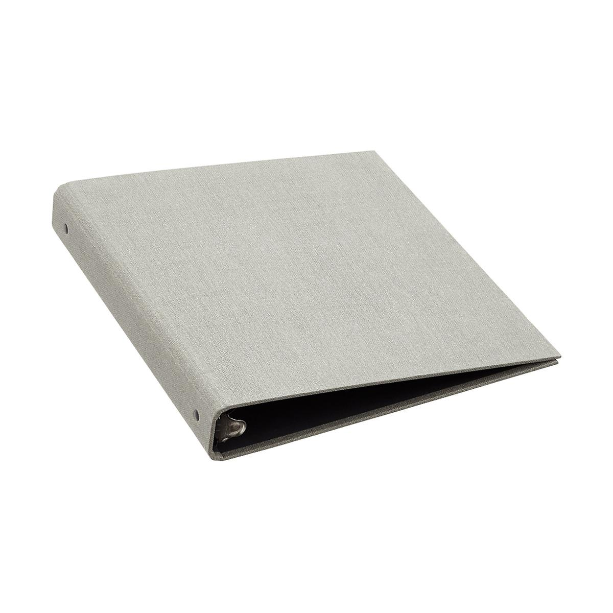 "Bigso Marten Grey 1"" Three-Ring Binder"