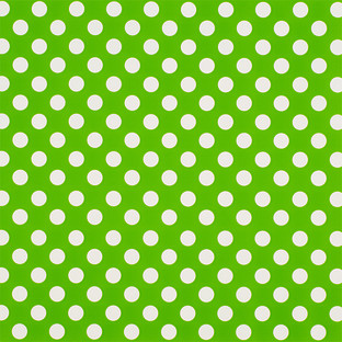 Large Green Dot Treeless Wrapping Paper