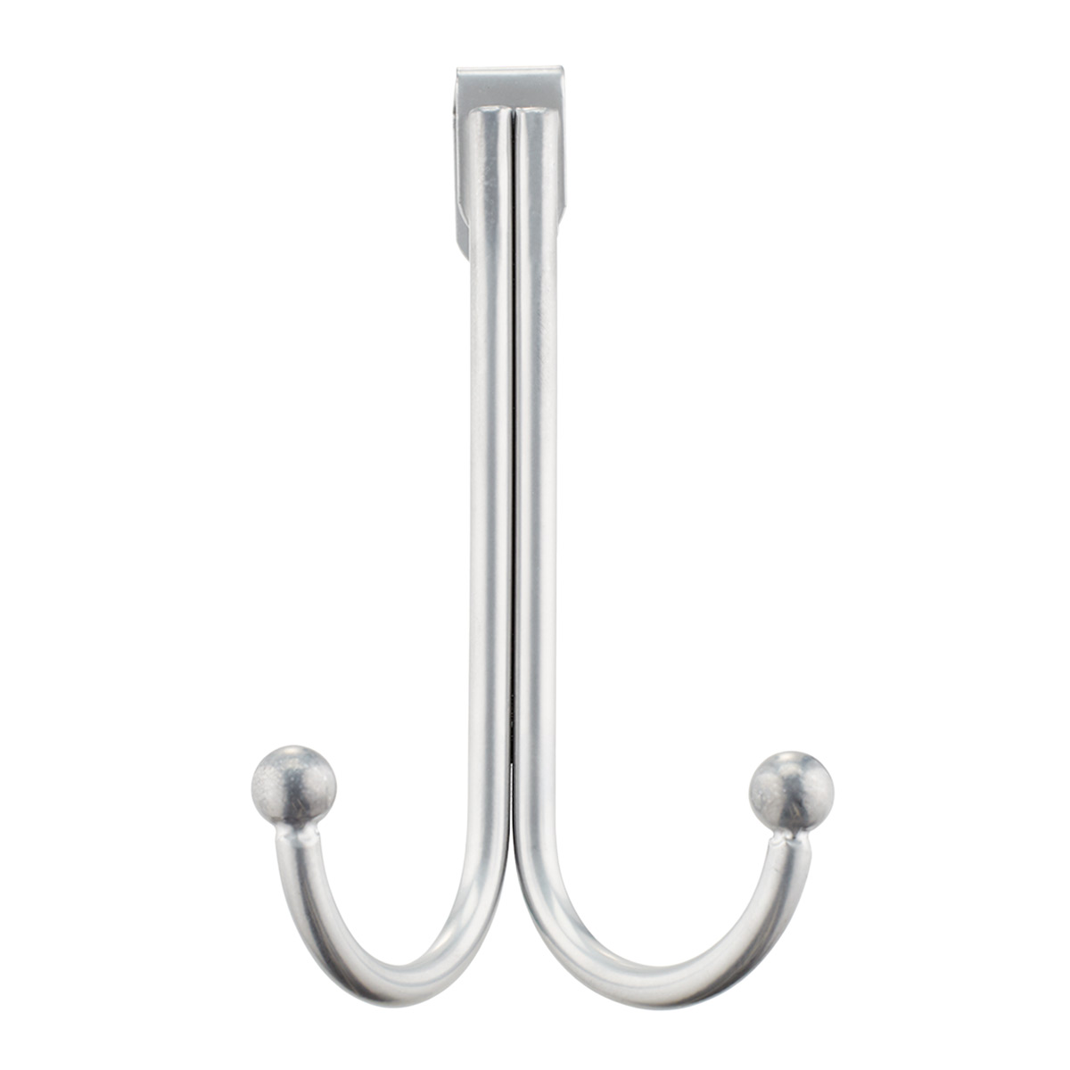 Design Ideas Silver Double Over the Door Hook
