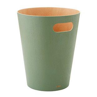Umbra Spruce Woodrow Trash Can