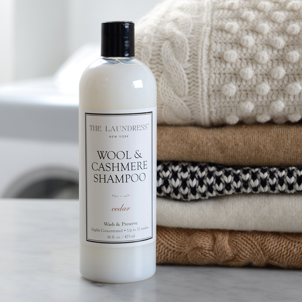 The Laundress 16 oz. Wool & Cashmere Shampoo