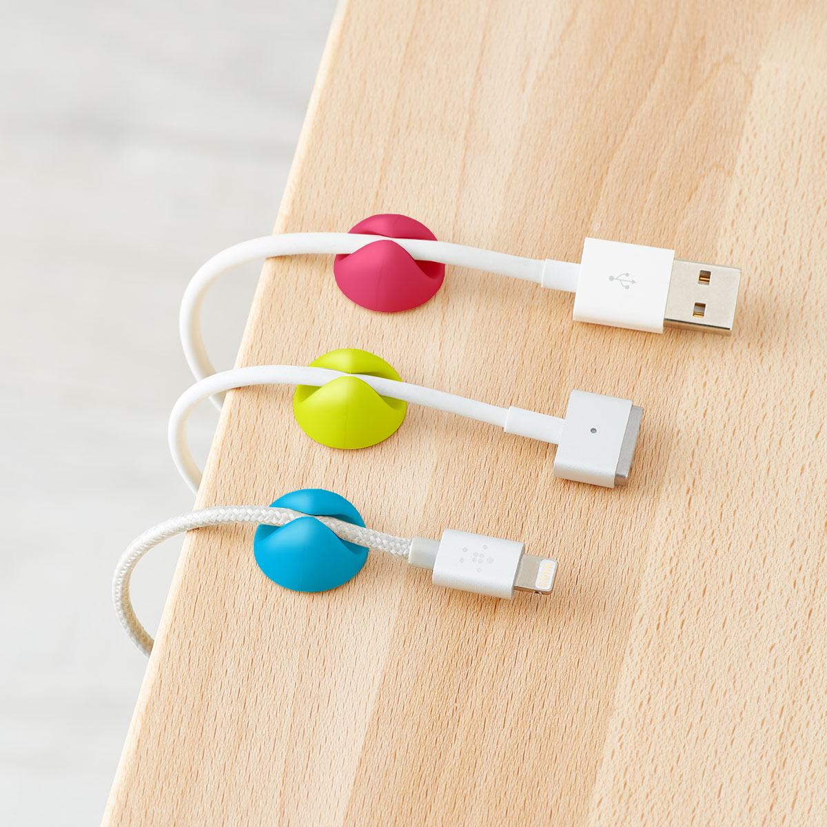 Bluelounge CableDrop Adhesive Cable Clips