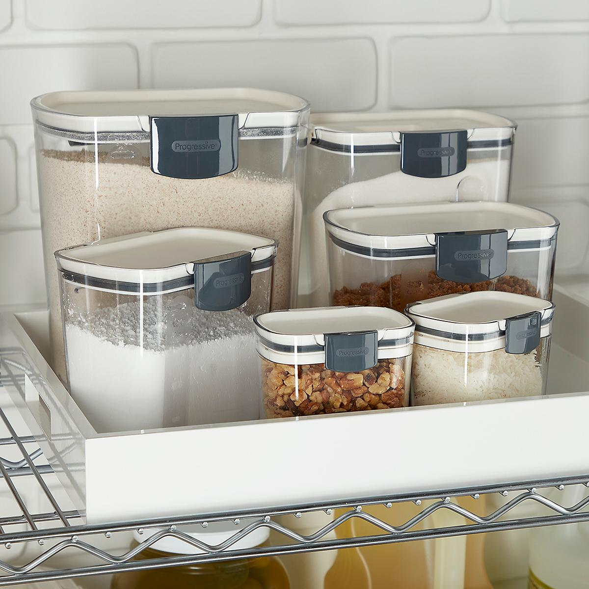 aad3f6ee51f0 ProKeeper Baker's Storage Set of 6 | The Container Store