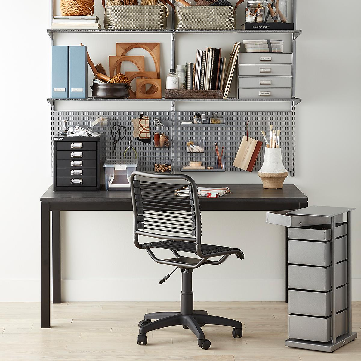Platinum Elfa Home Office Shelving