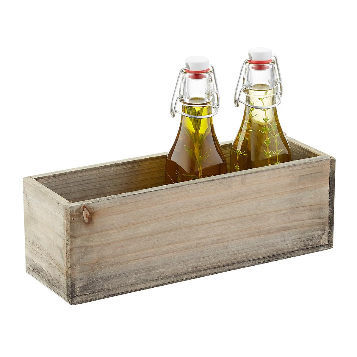 Fir Wood Rectangular Bin