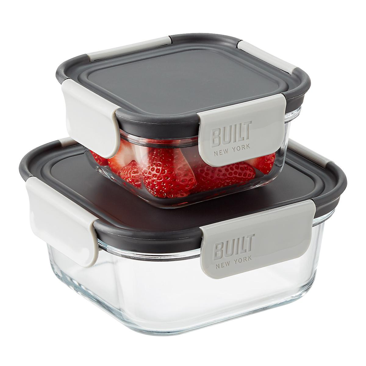 Built NY Gourmet Specialty Glass Bento Boxes