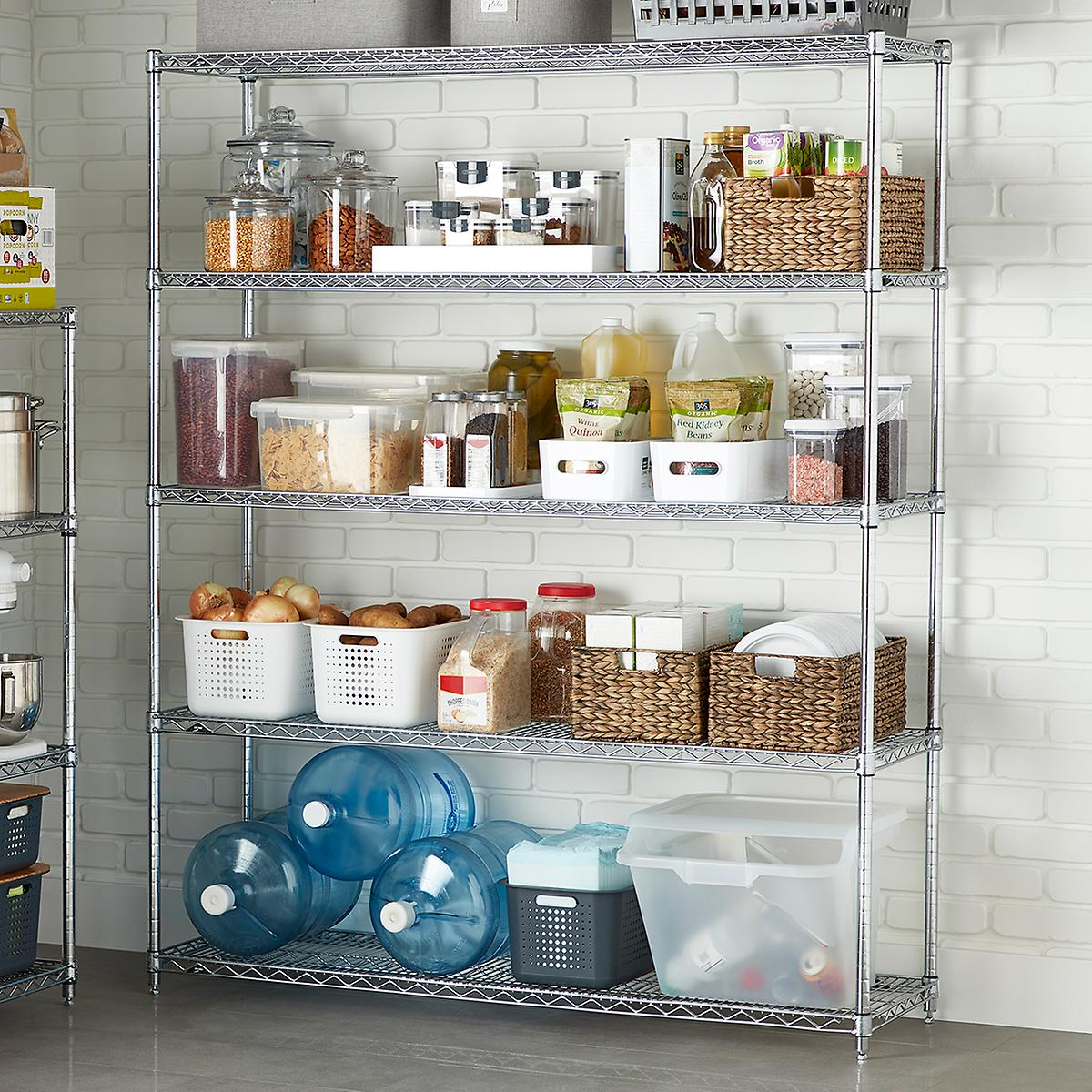 Metro Commercial Industrial 5-Shelf Pantry Solution