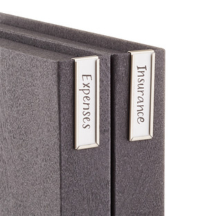 Bigso Vertical Magazine File Label Holders