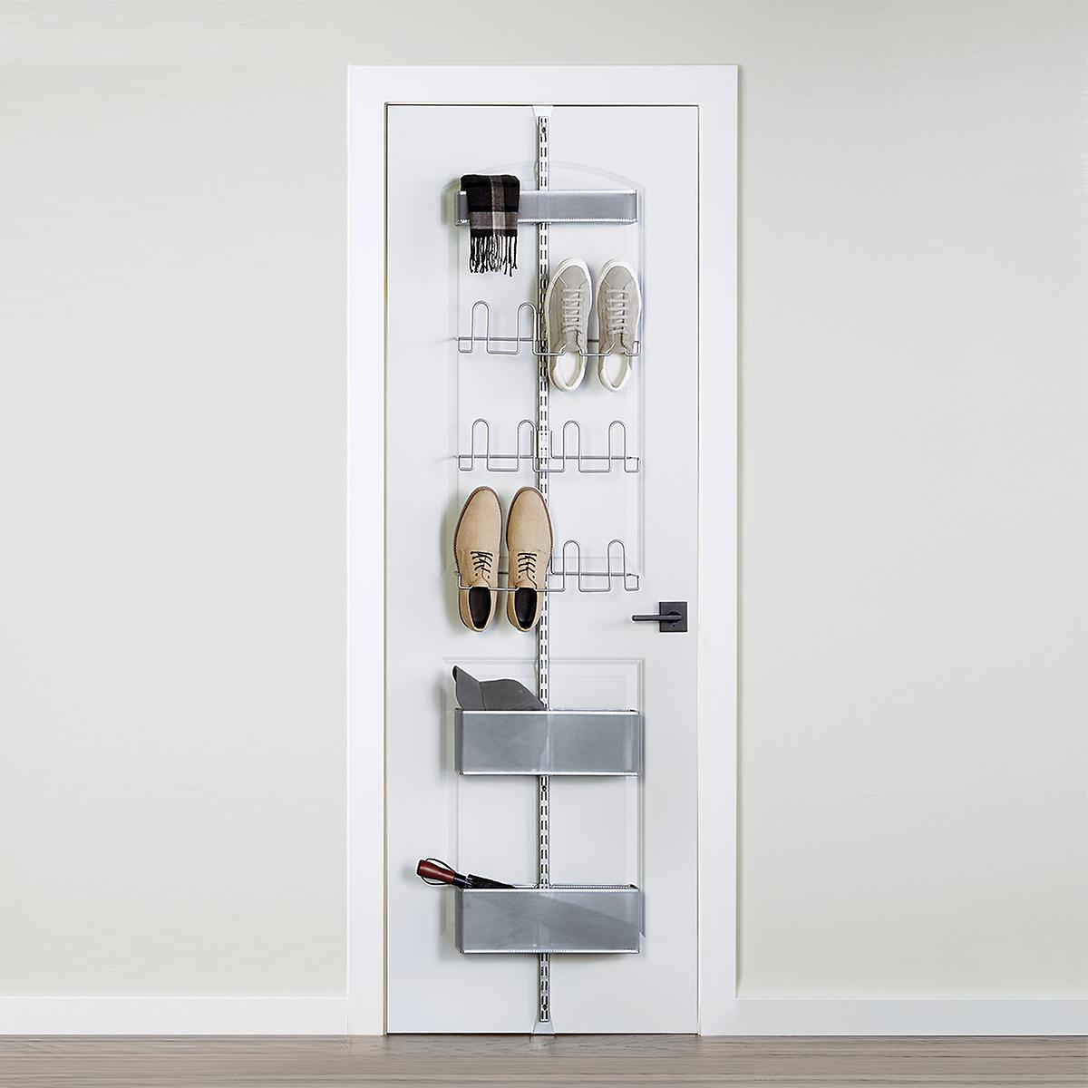 Platinum Elfa Utility Shoe Storage Over the Door Rack
