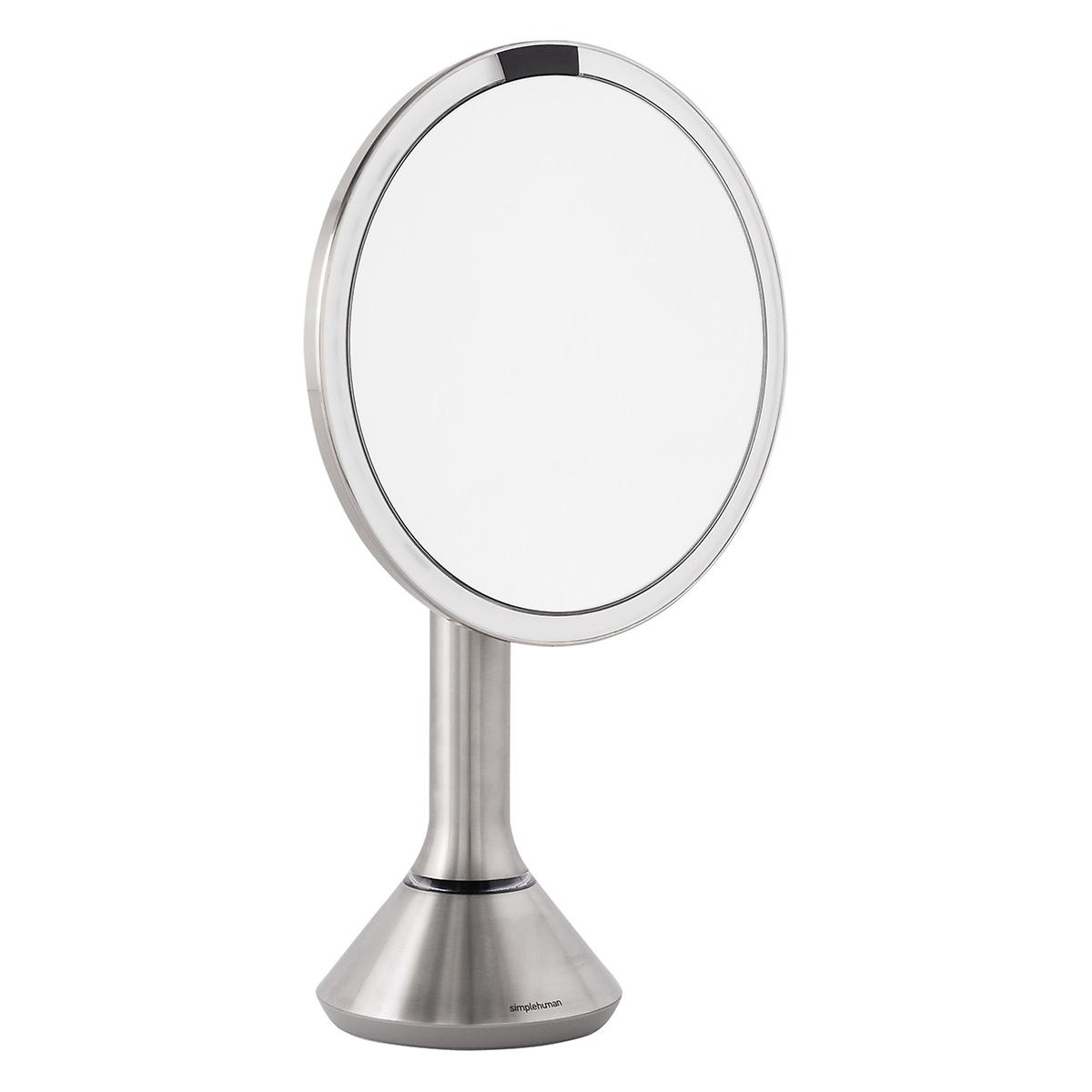 simplehuman Stainless Steel 5X Telescoping Sensor Mirror
