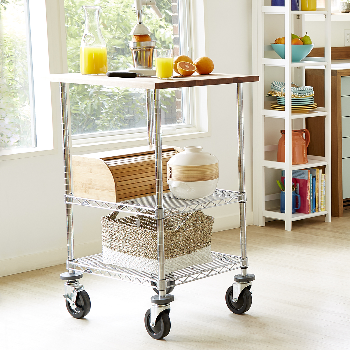 Metro Commercial Industrial Chef's Cart