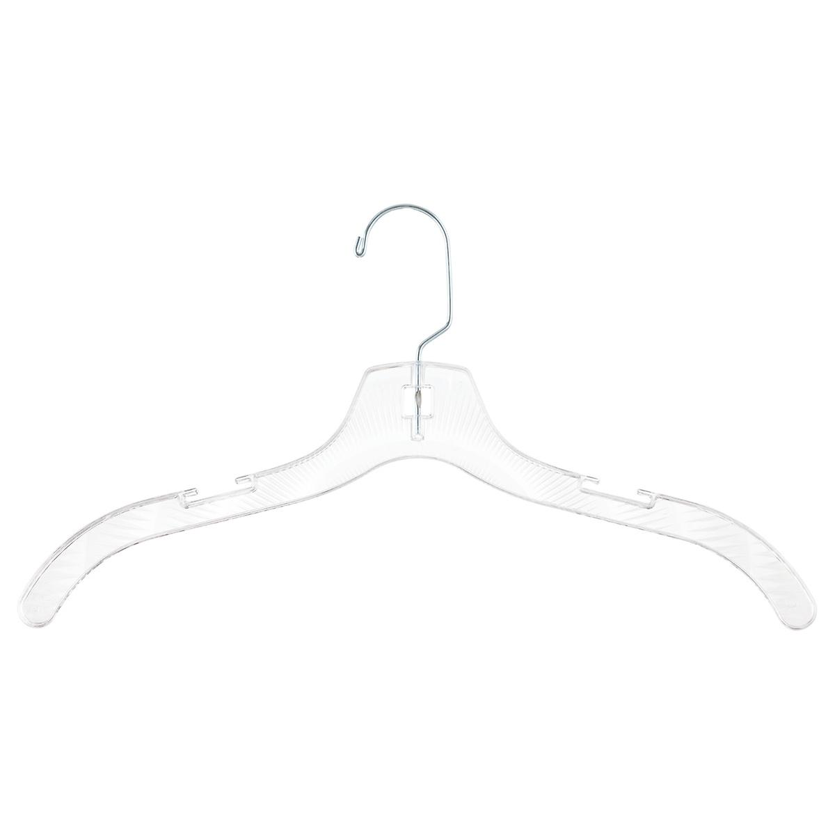 Crystal Clear Dress Hangers Pkg/5