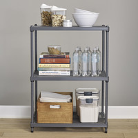 SoHo Grey Utility Shelving Product Image