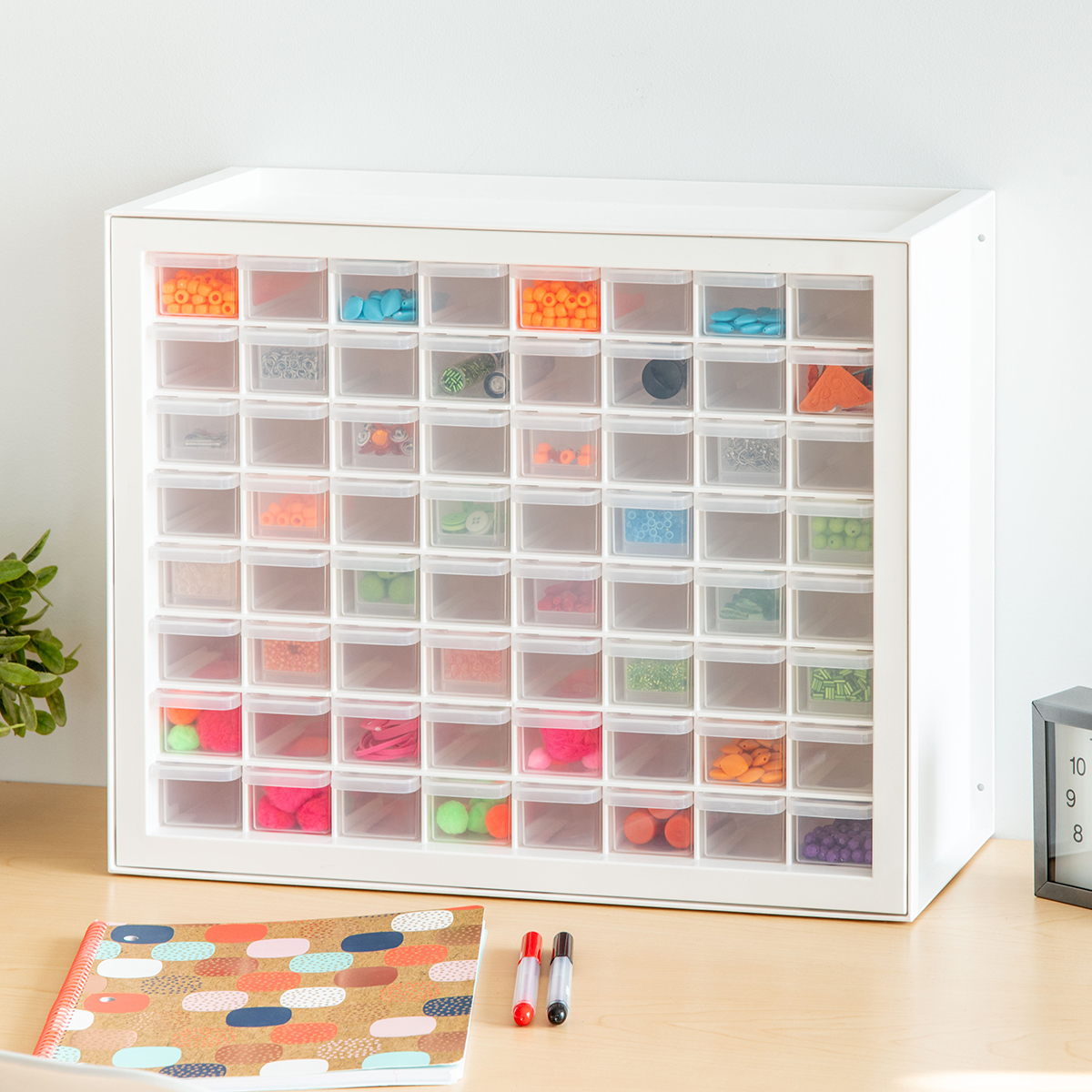 64-Drawer Craft Cabinet