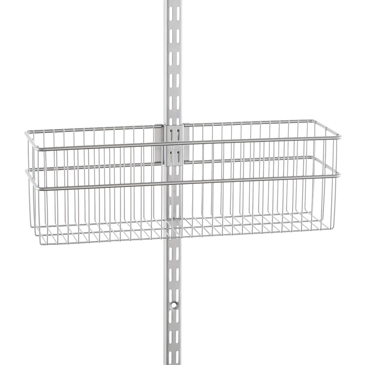 Elfa Utility Platinum Wire Baskets