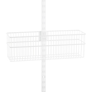 Elfa Utility White Wire Baskets