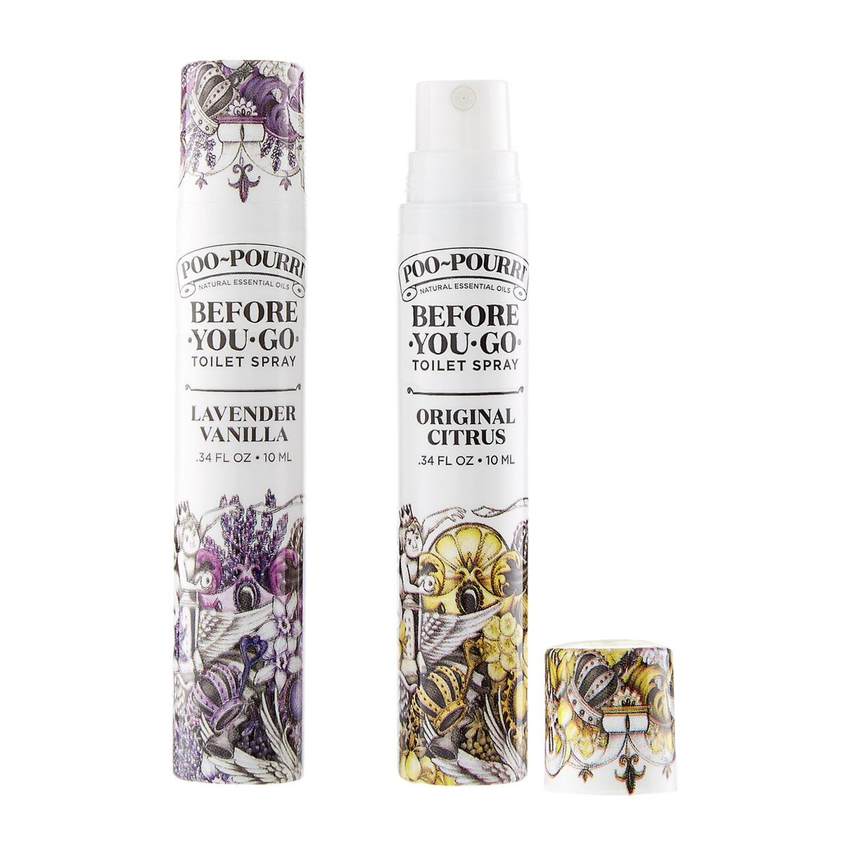 10ml Poo Pourri Sprayers by Container Store