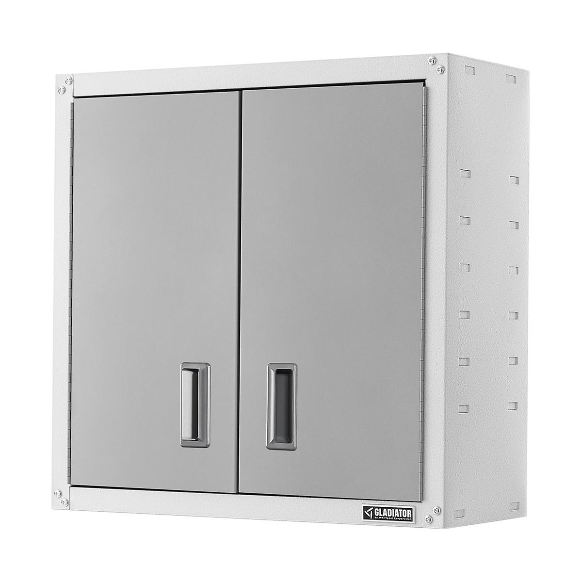Gladiator White Full-Door Wall-Mounted GearBox