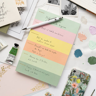 Rifle Paper Co. Pastel Weekly Notepad