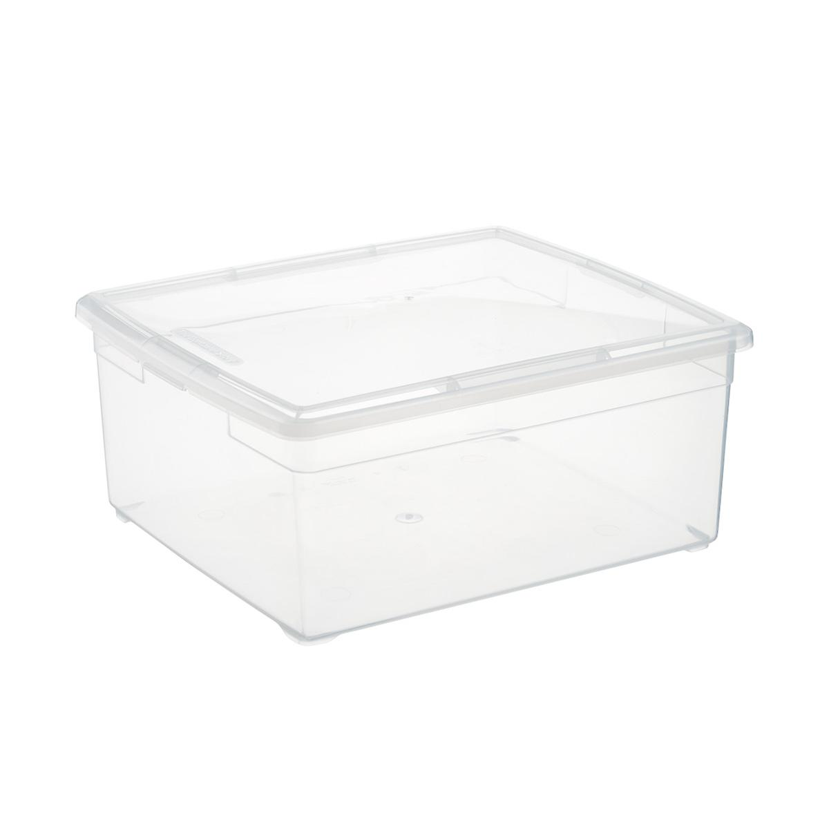 Clear Plastic Storage Boxes Our Clear Storage Boxes The Container Store