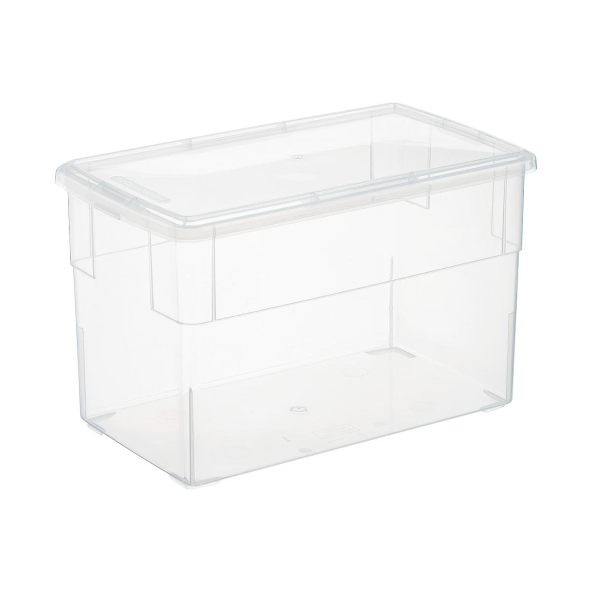 Clear Plastic Storage Boxes Our Clear Storage Boxes