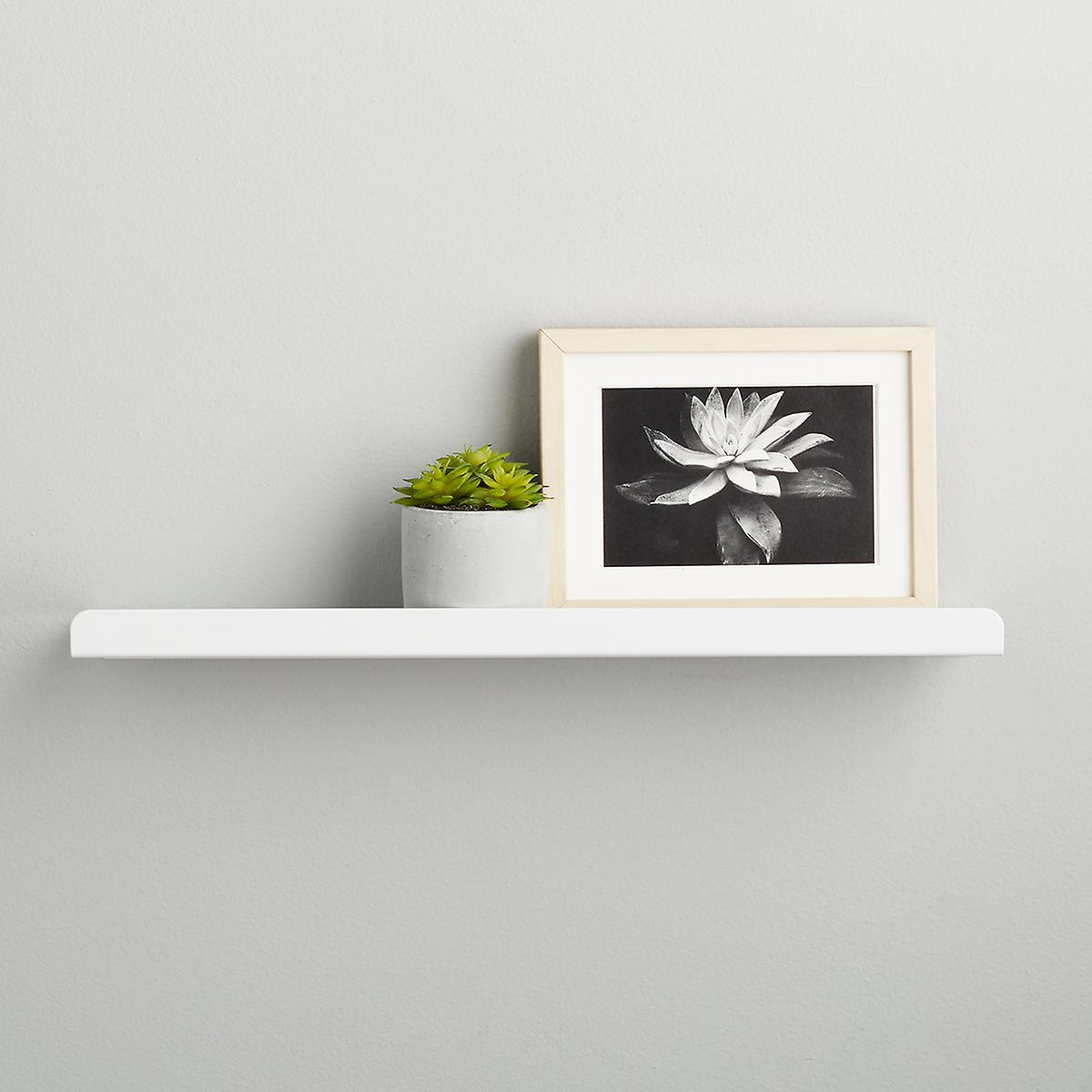 Umbra White Simple Ledge Wall Shelf
