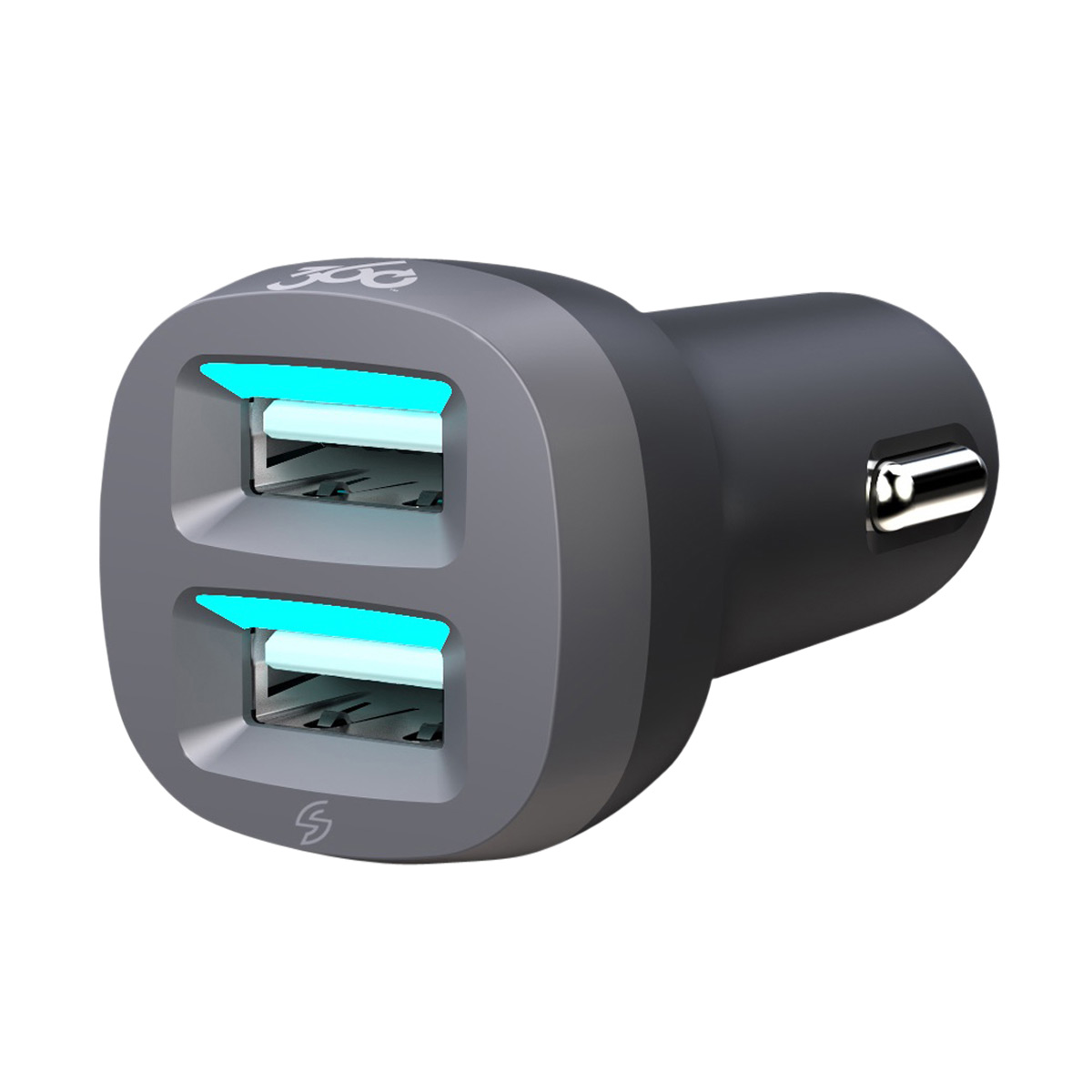 VividDrive 4.8 Dual 2-Port USB Car Charger