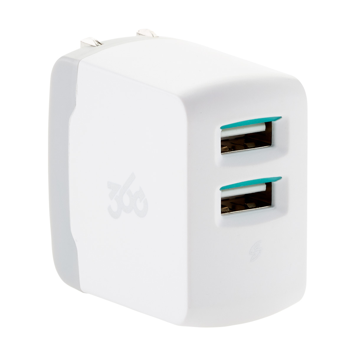 Vivid 2.4 Dual 2-Port USB Wall Charger