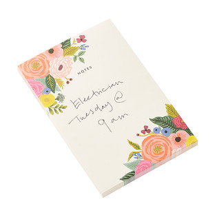 Rifle Paper Co. Juliet Rose Floral Notepad