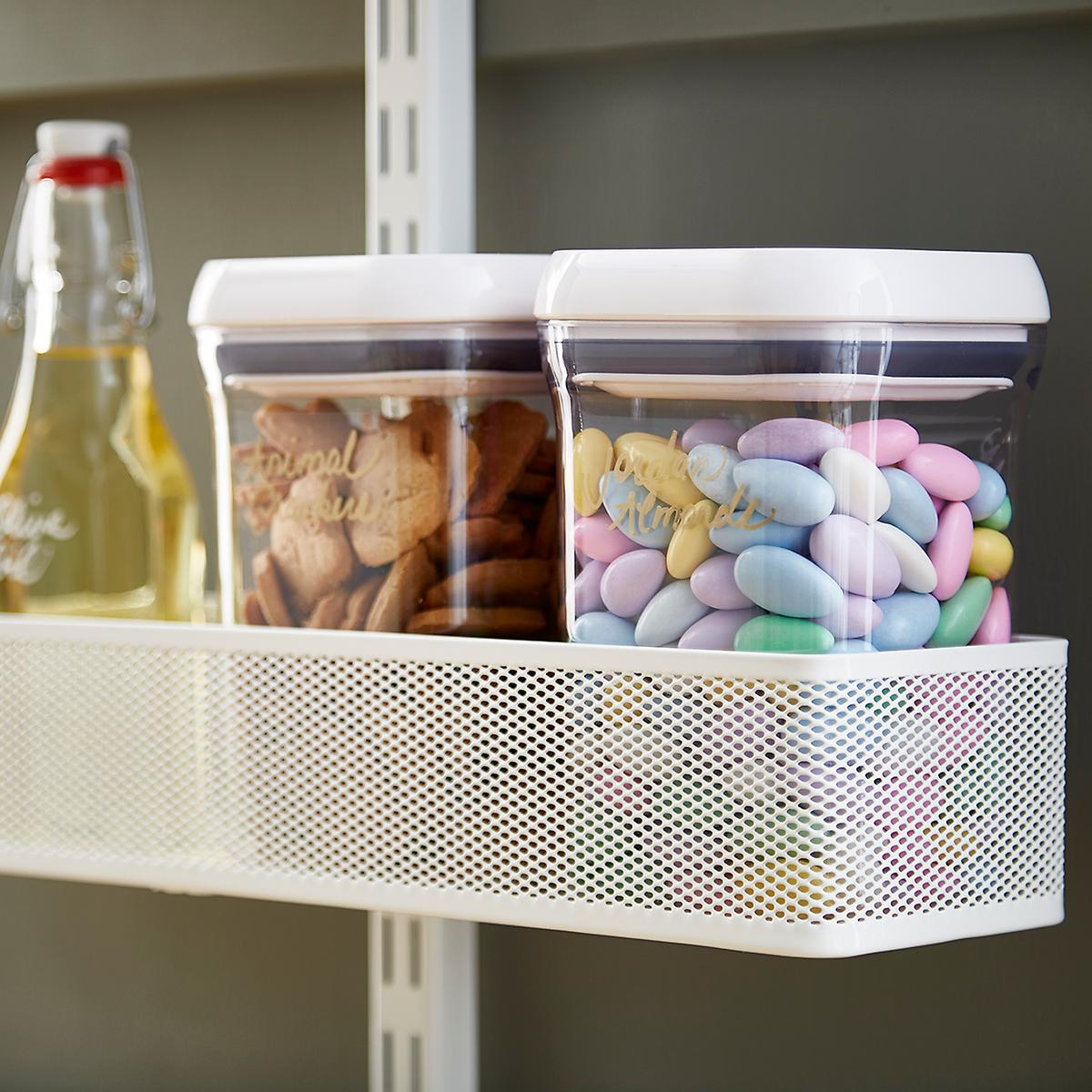 17 Best Images About Elfa Pantry On Pinterest: Elfa Utility White Mesh Pantry Door & Wall Rack