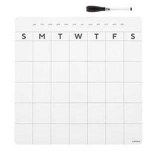 Magnetic Monthly Refrigerator Calendar
