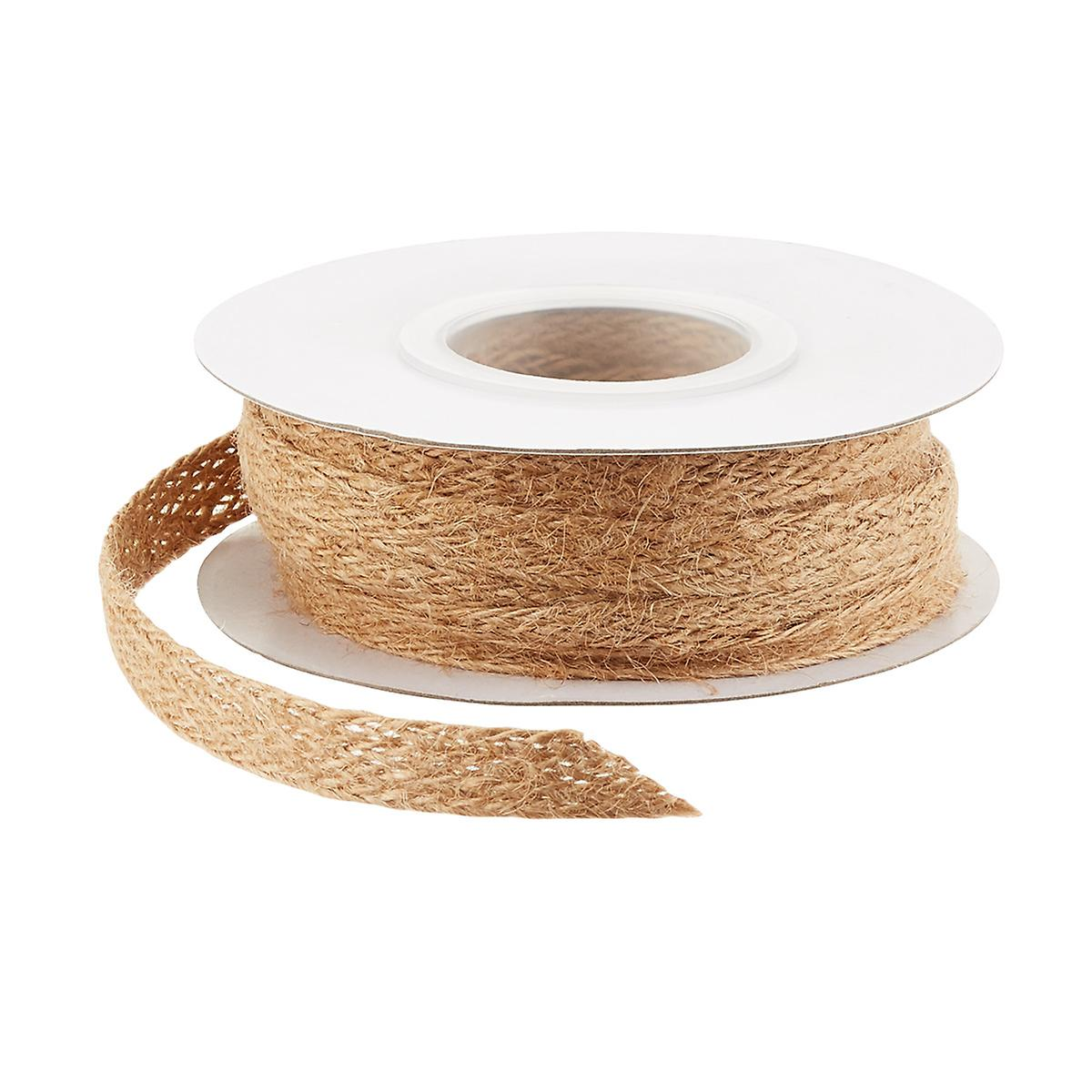 Jute Weave Natural Ribbon