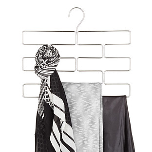 InterDesign Chrome Leggings Hanger