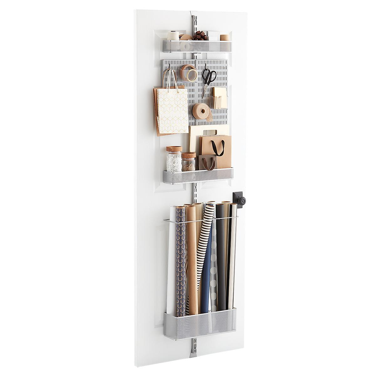 Elfa Utility Craft Room Door & Wall Rack