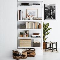 Elfa Décor 3 Bookshelf