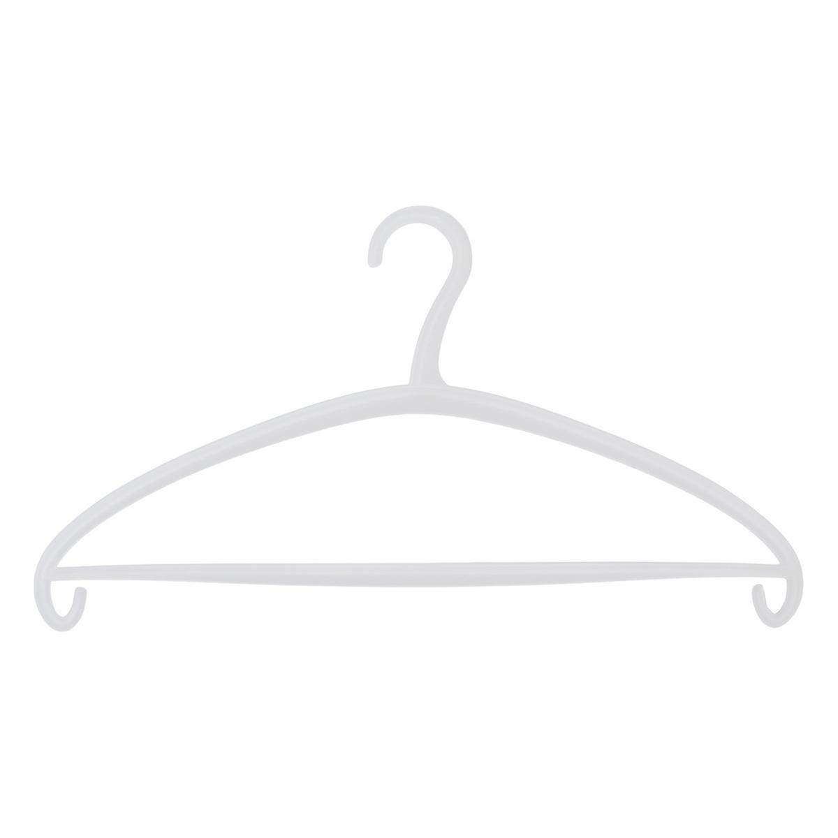 Palaset Clear Olka Hangers Pkg/3